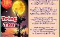 Trăng Thu &  Hai Mươi Tháng Chín & Trăng Rằm Trung Thu & Mưa Thu Buồn (TT)
