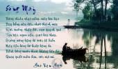 Thơ Tranh: Sông Mây