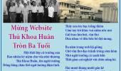Mừng Website Thủ Khoa Huân Tròn Ba Tuổi