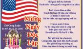 Mừng Ngày Độc Lập Hoa Kỳ & Tháng Bảy Vấn Vương & Mùa Hè Năm Sau & Đón Ngày Hạ Chí (Thơ )