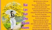 Bài Lục Bát Cho Người Quen