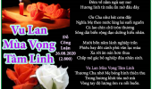 Vu Lan Mùa Vọng Tâm Linh & Mùng 7 Tháng 7 Mưa Ngâu