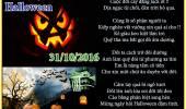 Mừng Halloween 31/10/2016