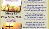 Mừng Lễ Phục Sinh, 2016