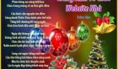 Giáng Sinh Về Chúc Website Nhà